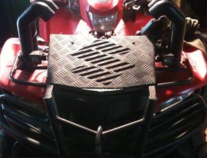 Вынос радиатора квадроцикла своими руками